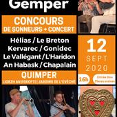 Entrée gratuite et spectateurs assis ... pour la 5ème Noz Kalon Gemper - Penhars Infos Quimper
