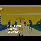 #TDF2021 - Découvrez l'étape 7 / Discover stage 7