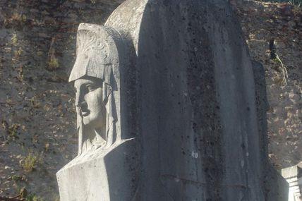 Quartier de la Croix-Verte/Pont l'Evêque : le cimetière d'Autun.