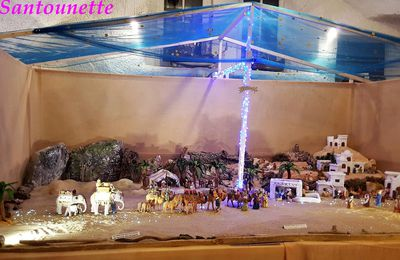 Ma crèche de Noël 2017 (fin) : thème la caravane des Rois Mages en marche vers Bethléem