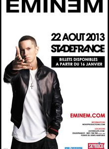 [Live report] Eminem - Stade de France - 22 Août 2013