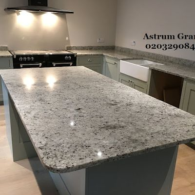Get Top Colonial Ivory Granite Kitchen Worktop in London - Call Us: 02032908427 | Astrum Granite