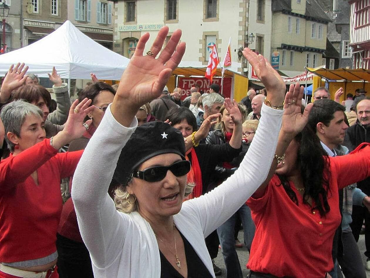 La Fête du viaduc, manifestation festive, mais aussi très politique, est annulée pour la seconde année, Covid-19 oblige. | ARCHIVES OUEST-FRANCE