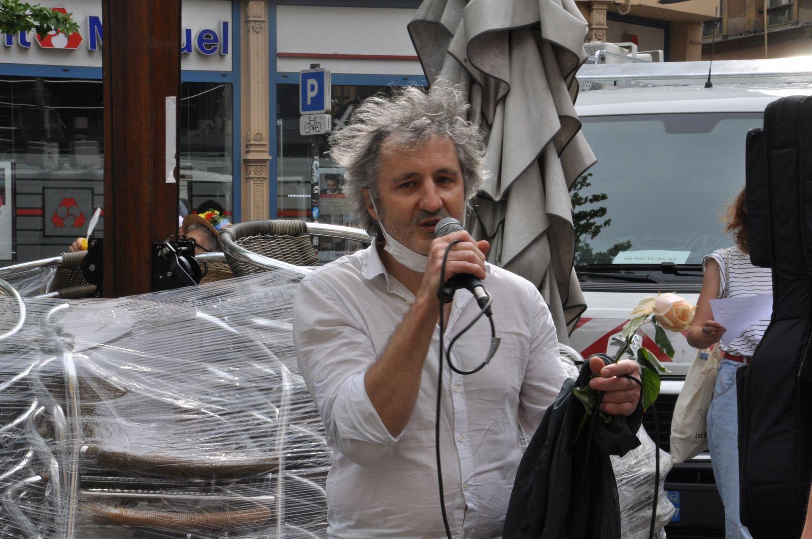 Photos à Metz de la marche « Le monde d'après »  Dimanche 9 Mai 2021
