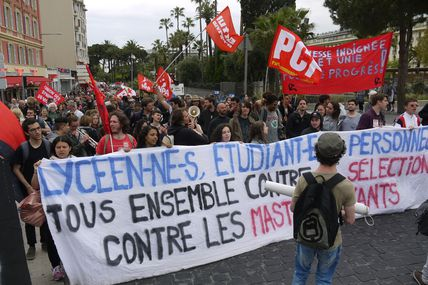 Manifestation du 1er mai à Nice (photos)