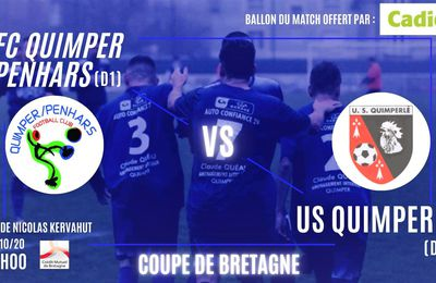 FCQP : coupe de Bretagne, dimanche, au stade Nicolas Kervahut