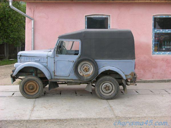Aro, Roumanie en camping-car