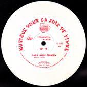 L'Orchestre Côte D'Azur (dir. art. P. Spiers) - Papa aime Maman - 1960 - l'oreille cassée