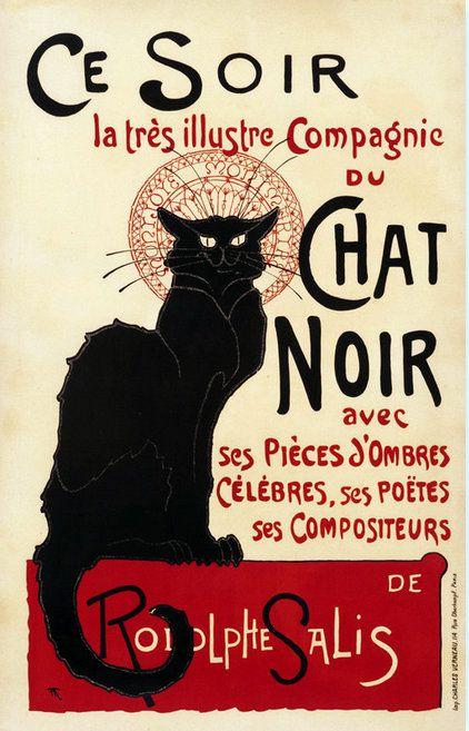 PUBLICITES : LES  GRANDS  NOMS  DE  L'AFFICHE...Théophile Alexandre STEINLEN, L'AMI  DES  CHATS.