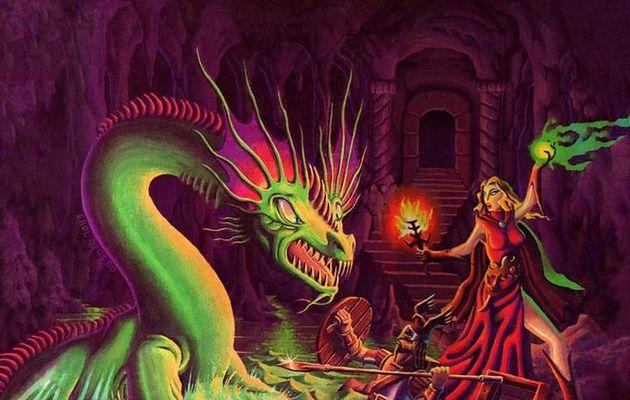 Les restaurations du dragon : D&D règles de base version Moldvay