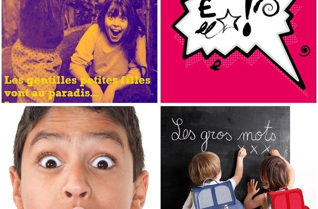 """Atelier Kids  Phil'Osons & Librairie Maupetit Actes Sud """"les Gros mots! """" Samedi 07.12.19 à 10h00"""