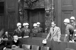 Nuremberg Day 9 Hess at Nuremberg, Admitting He Faked Loss of Memory