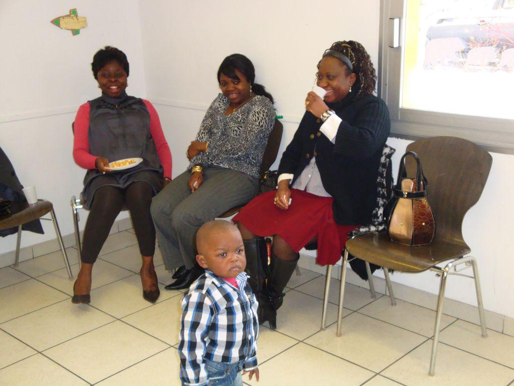 Noel des enfants avec l'association des femmes congolaises de Strasbourg