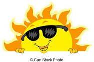 En aout au soleil ,  fais tes réserves!