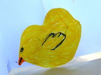 diy facile  pâques pour enfant avec emporte pièce sur charlotteblabla blog