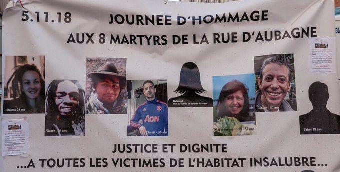 Marseille : hommage en silence aux victimes de la rue d'Aubagne