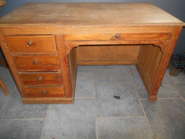 meubles et objets à l'atelier