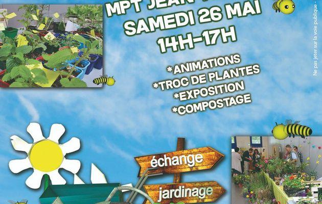 Troc Plantes à la MPT Jean Moulin ce 26 mai