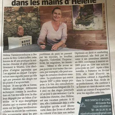 Le cabinet passe dans la Savoie ce 11 octobre 2018