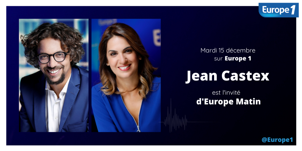 Jean Castex invité exceptionnel d'Europe 1 mardi matin