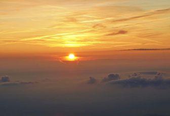 Ma photo préférée - Lever du Soleil depuis le refuge du Viso