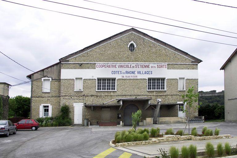 Cave coopérative des vignerons de Saint-Etienne-des-Sorts (Gard)