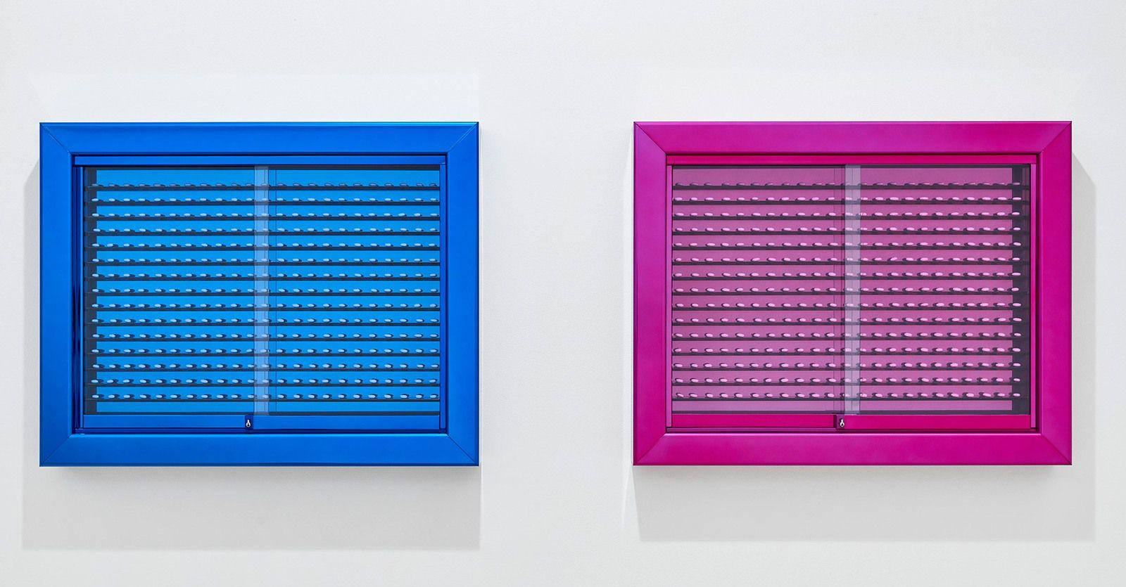 """""""Dad and Mum"""", 2021 de Damien HIRST - Courtesy de l'artiste et de la Galery Gagosian Paris"""