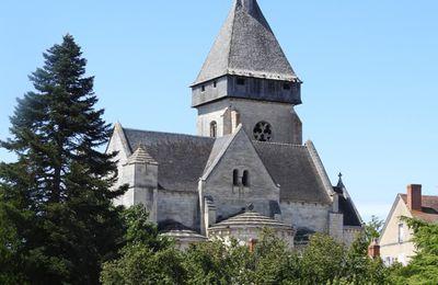 Argentomagus - l'église de St Marcel