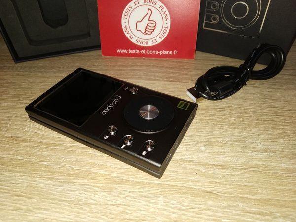 présentation du lecteur audiophile Hi-Fi digital Loleless Hi-Res Audio 8 Go dodocool @ Tests et Bons Plans
