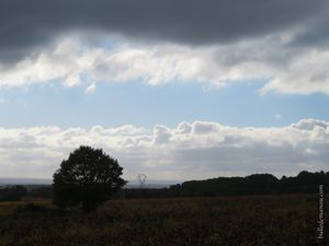 Paysages vus du haut de la Chaîne des Côtes...