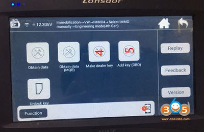 How to Convert MQB Immo Data in Lonsdor K518ISE?