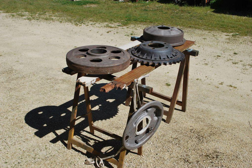 crédit photos : alain Chaussade - rouleau tendeur - tambours  freins