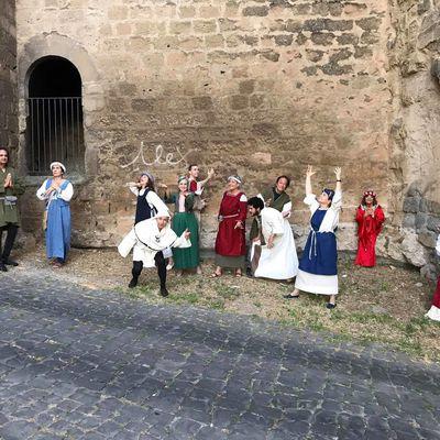Novelle Boccaccesche col Teatro degli EstroVersi ai Ludi alla Fortezza di Orvieto (TR)