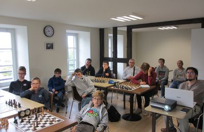 Week-end studieux à Colmar Echecs
