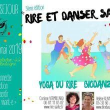 GUERLEDAN : Stage « Rire et danser pour libérer notre énergie positive » 18 et 19 Mai 2019