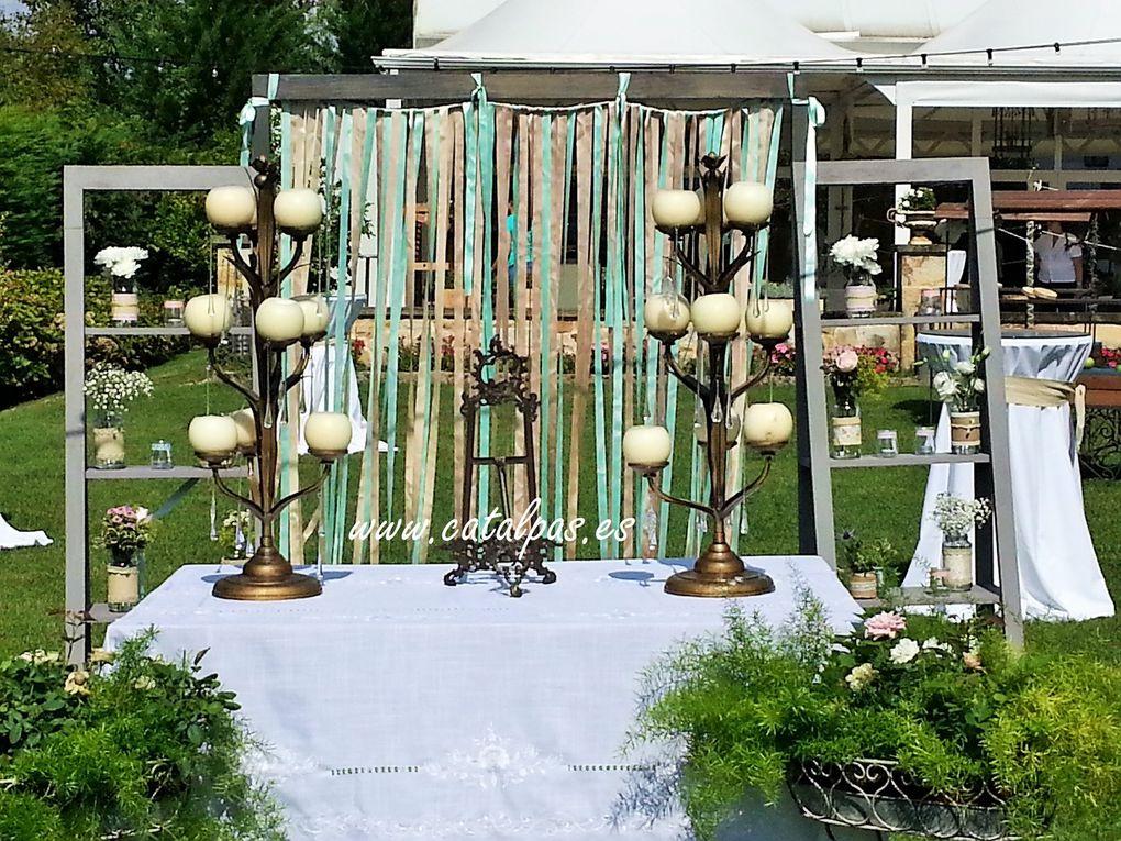 Ceremonia -Catalpas centro de jardinería
