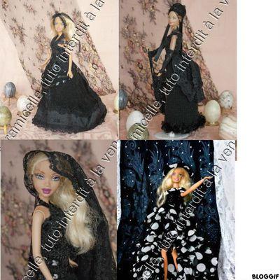 défi Pipiou  : mes petites robes noires
