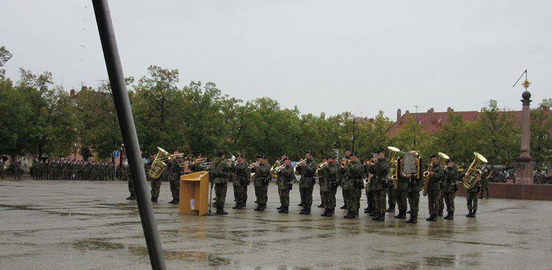 Passation de commandement à la Brigade franco-allemande