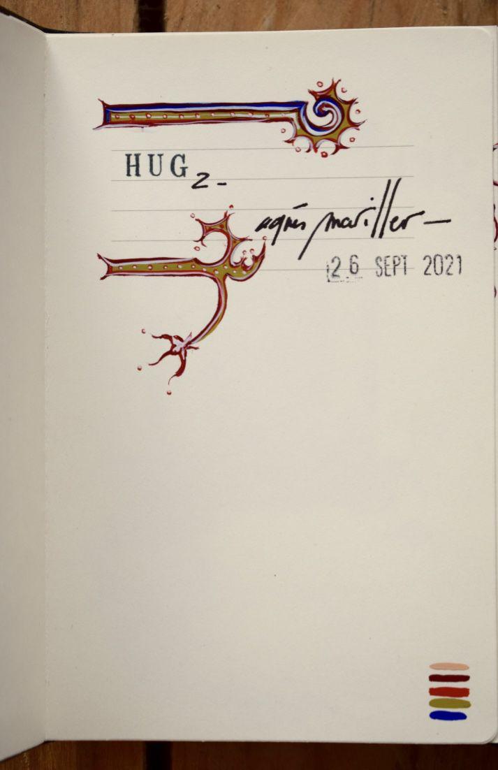 HUG 2 : carnet format japonais