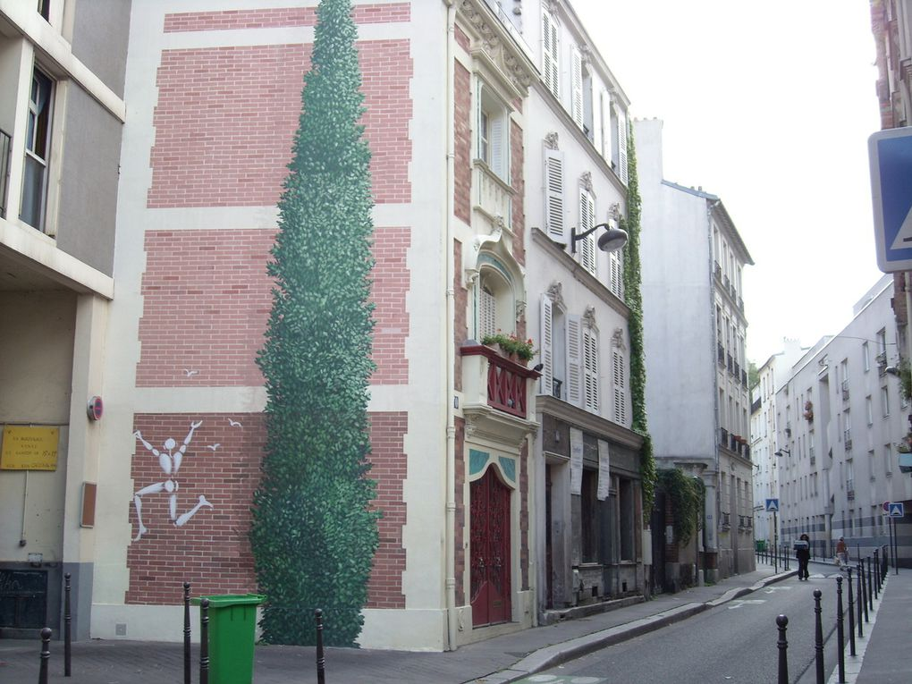 Mesnager et Mosko - Paris 20e