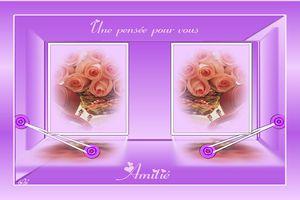 Carte à imprimer ~Amitié~