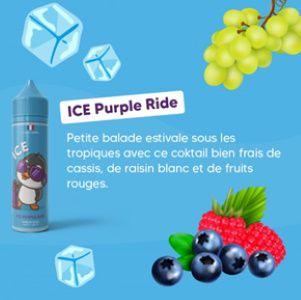 Test - Eliquide - Purple Ride gamme Ice de chez Bobble Liquide