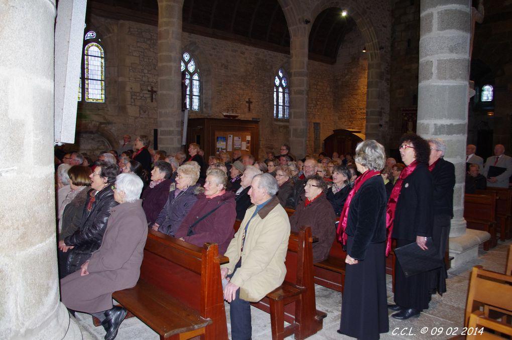 images du concert donné à GOUESNOU le 9 février 2014 au profit de l'association Céline et Stéphane