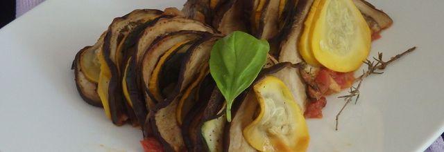 Tian de légumes de Cyril Lignac