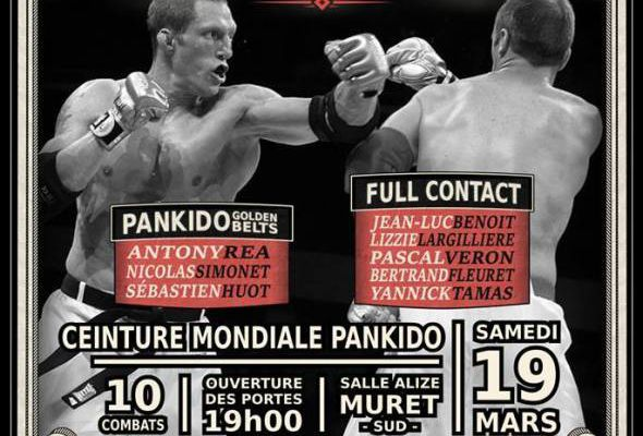 Boxe In Defi : Anthony Réa roi du pankido
