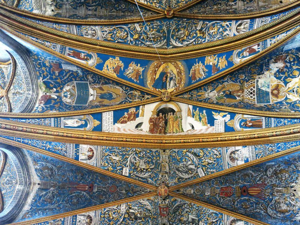 La diagonale médiévale : Albi la rose