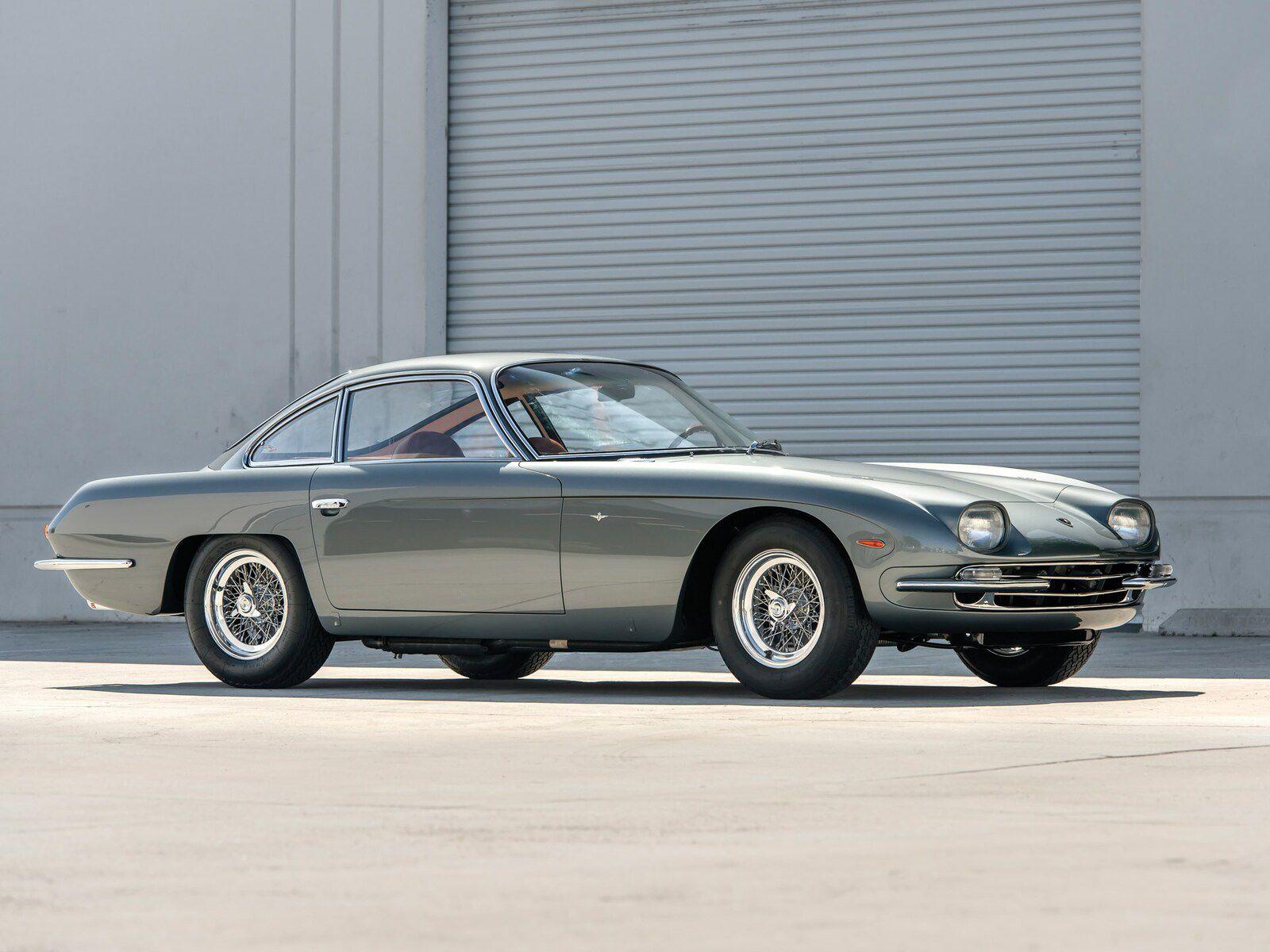 La pionnière des Lamborghini affichait un style élégant...