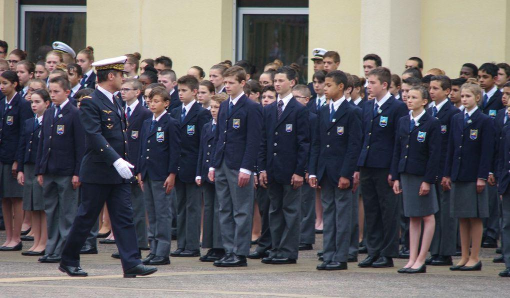 Ecole des Pupilles de l'Air de Montbonnot: cérémonie militaire de la remise des prix 2019