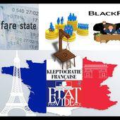 De l'état providence à la France gibier de potence de la finance blackrock blackfriday blackbloc