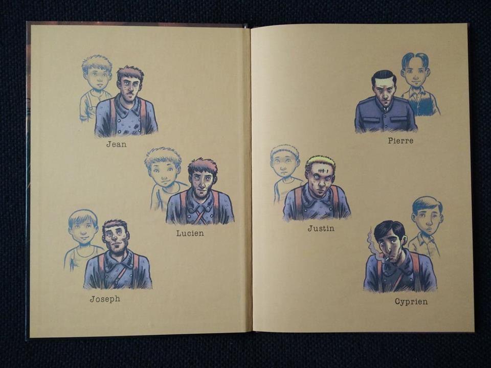La Faucheuse des Moissons. 3 tomes. Frédéric CHABAUD et Julien MONIER – 2013 et 2014 (BD)